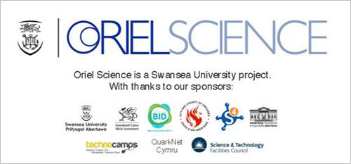 Oriel Science suite of partner logos