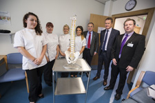 Osteopathic centre opening group
