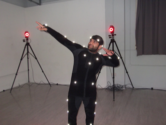 Reaching Wider motion capture