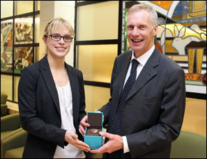 Prof Martin Sheldon Schofield Medal 2
