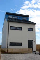 Uk S First Smart Carbon Positive Energy House Unveiled