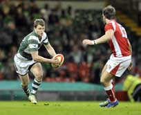 Steffan Hughes in action