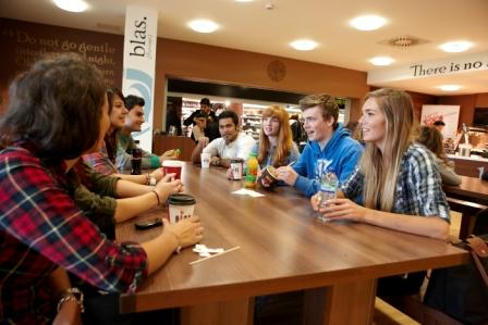 Student group in Blas