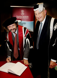 Michael Sheen hon degree 2