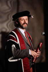Michael Sheen Hon degree 1