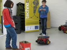 Technocamps robots in schools