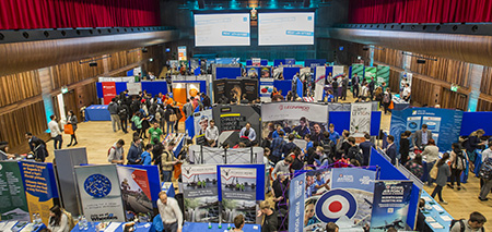 Careers Fair in Great Hall