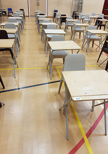 Chairs for School Exams