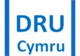 DRU Cymru logo