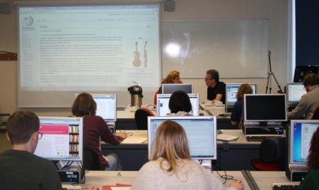 Wikipedia editathon - group