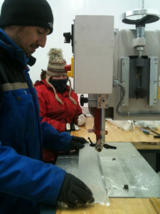 Ice core sampling - TEPHRA