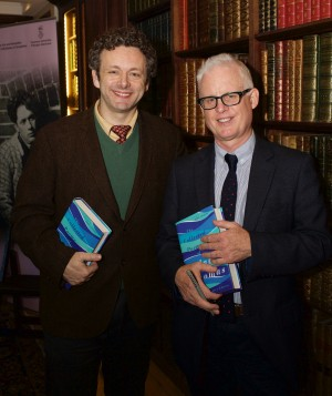 Michael Sheen and Professor John Goodby