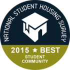 NSHS Best student community award 2015 logo