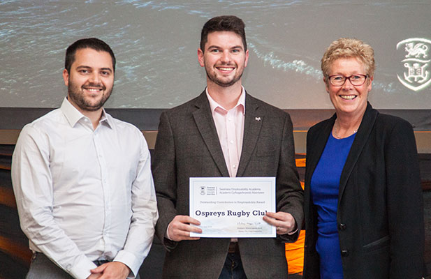 Ospreys win SU employability award