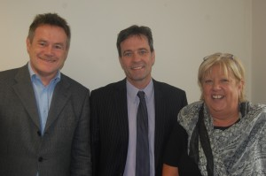 Professor Keith Lloyd, Head of Swansea University's Medical School, Professor Ke