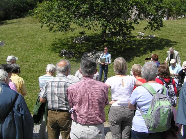 Image readings from the literary tour at the Dillwyns and Hendrefoilan House