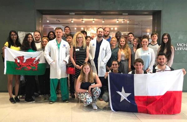 Swansea students' placement at one of America's top medical