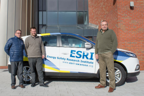 Swansea University adds new Hydrogen Fuel Cell Vehicle (FCV