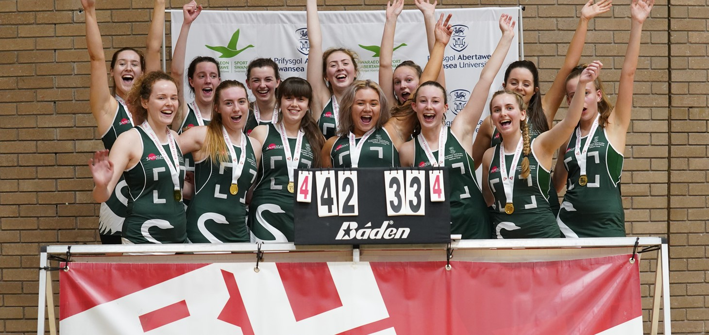 Netball team win BUCS Western Conference Plate