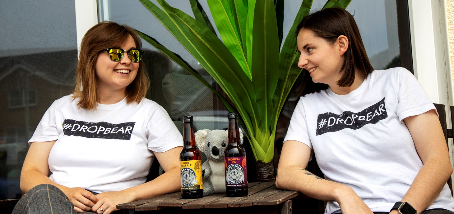 Drop Bear Beer Co-founders Joelle Drummond and Sarah McNena