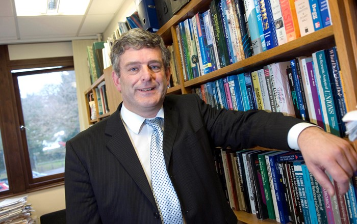 Swansea University's Professor David Blackaby who will be speaking at a symposium on city deals being held at the Bay Campus on September 18, 2019