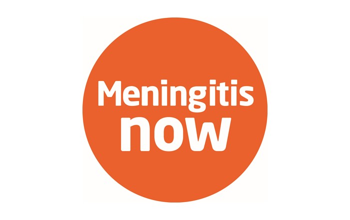 A picture of the Meningitis Now logo