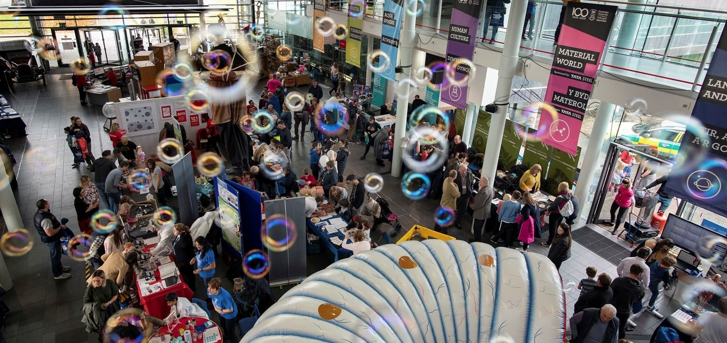 Wales' largest science festival returns to Swansea