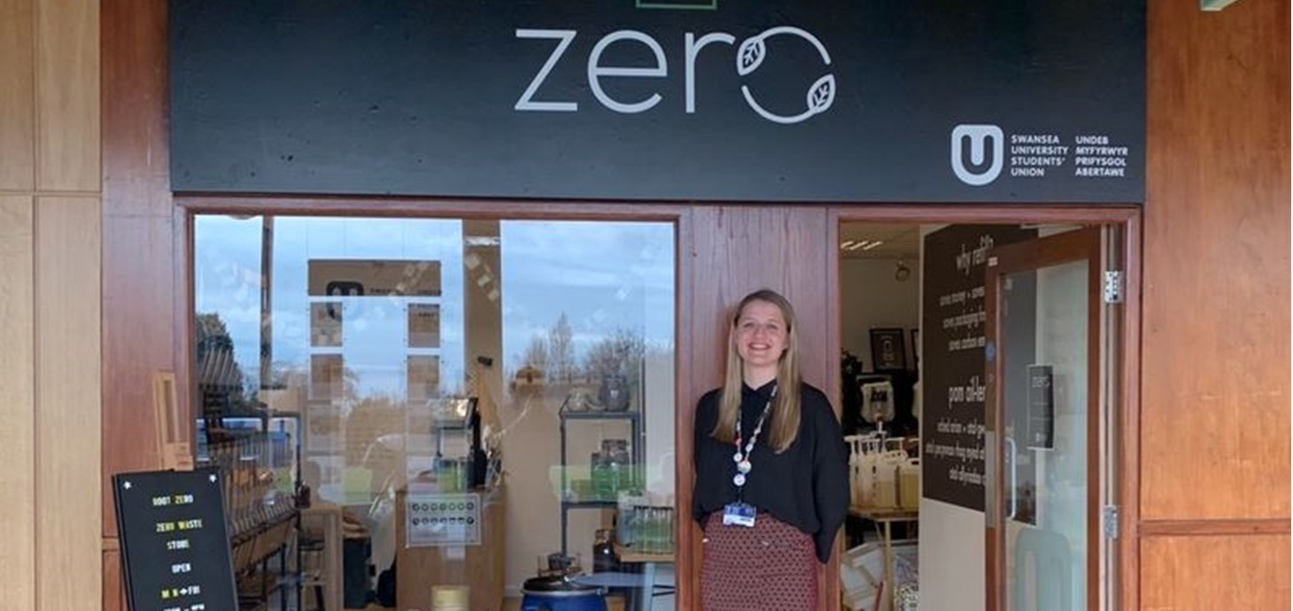 Swansea become first university in Wales to open zero waste shop