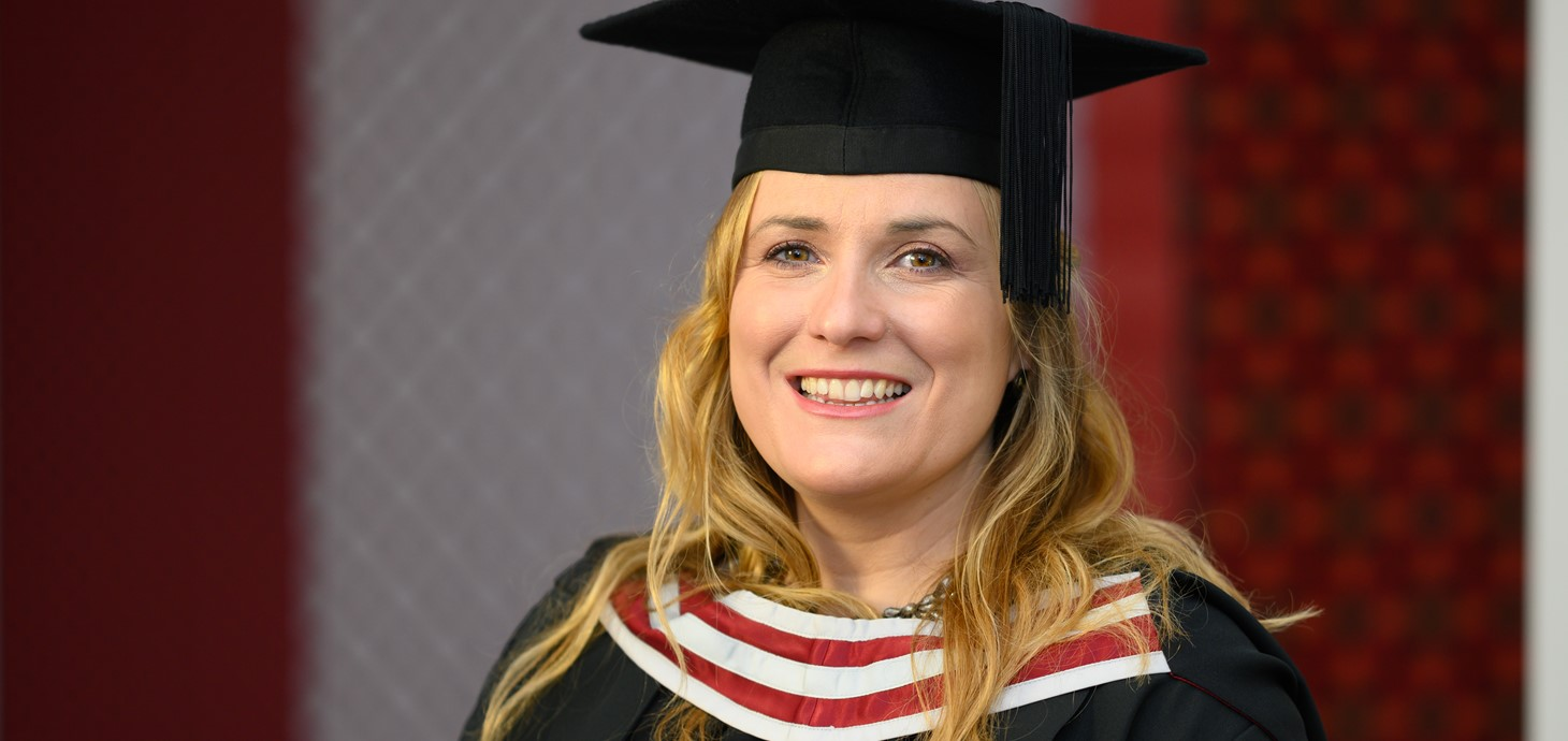 Mother overcomes family battle to graduate with law degree