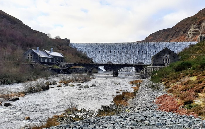 Picture shows the Caban Coch Dam, Elan Valley, Wales. Credit Sara Barrento.