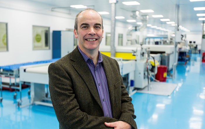 Swansea University's Professor Dave Worsley has won a prestigious St David Award for his contribution to Innovation, Science and Technology.