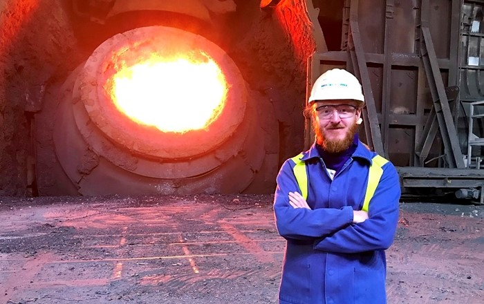 Steelmaking: the History Department's 'Social Worlds of Steel' research project team is taking to Twitter as an alternative way to share research