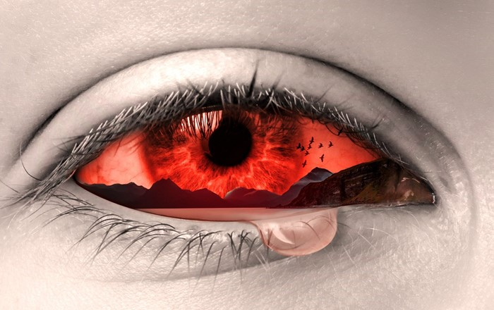 Study shows how traumatic experiences can leave their mark on a person's eyes