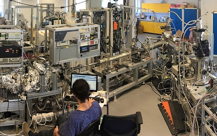 Laboratory where new experiments on molecule-surface interactions were conducted: Swansea University researchers have demonstrated for the first time an experimental determination of a scattering matrix, opening up new opportunities for studying and modelling molecule-surface interactions.