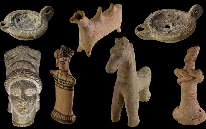 Items from the Egypt Centre collection