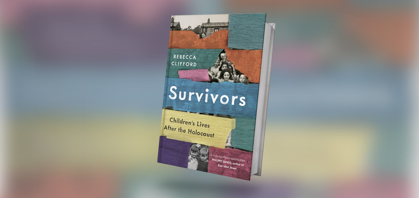 The image shows the Survivors book cover art.
