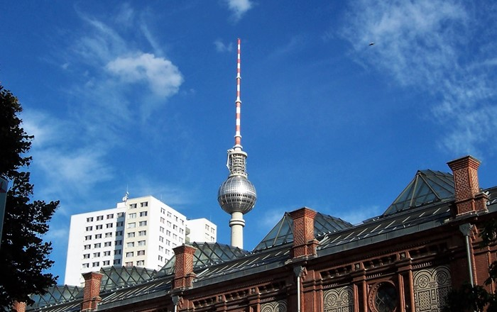 Berlin TV Tower (Fernsehturm), 368m: this new research will focus on energy supply to motion sensors in tall buildings and structures.