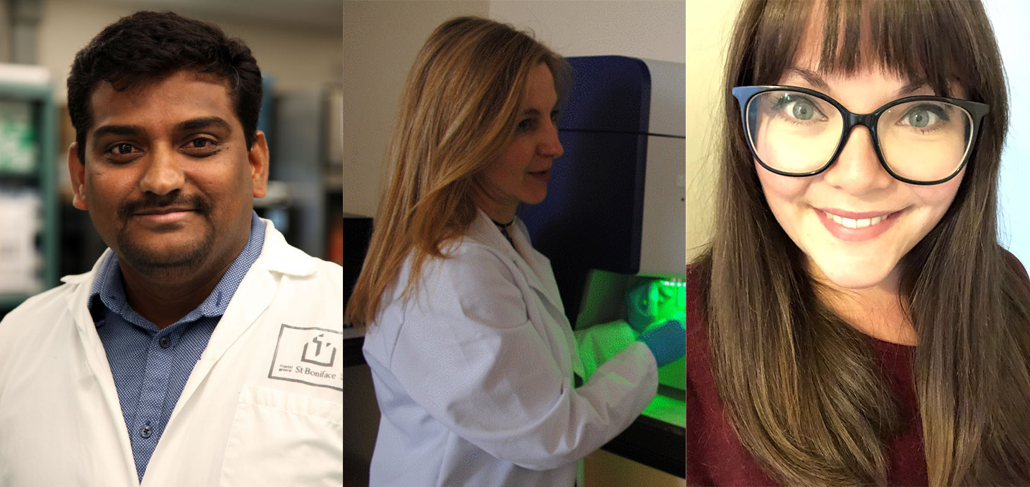 Dr Suresh Mohankumar, Dr Rhian Thomas, Sophie Croucher are joining the University's Medical School.