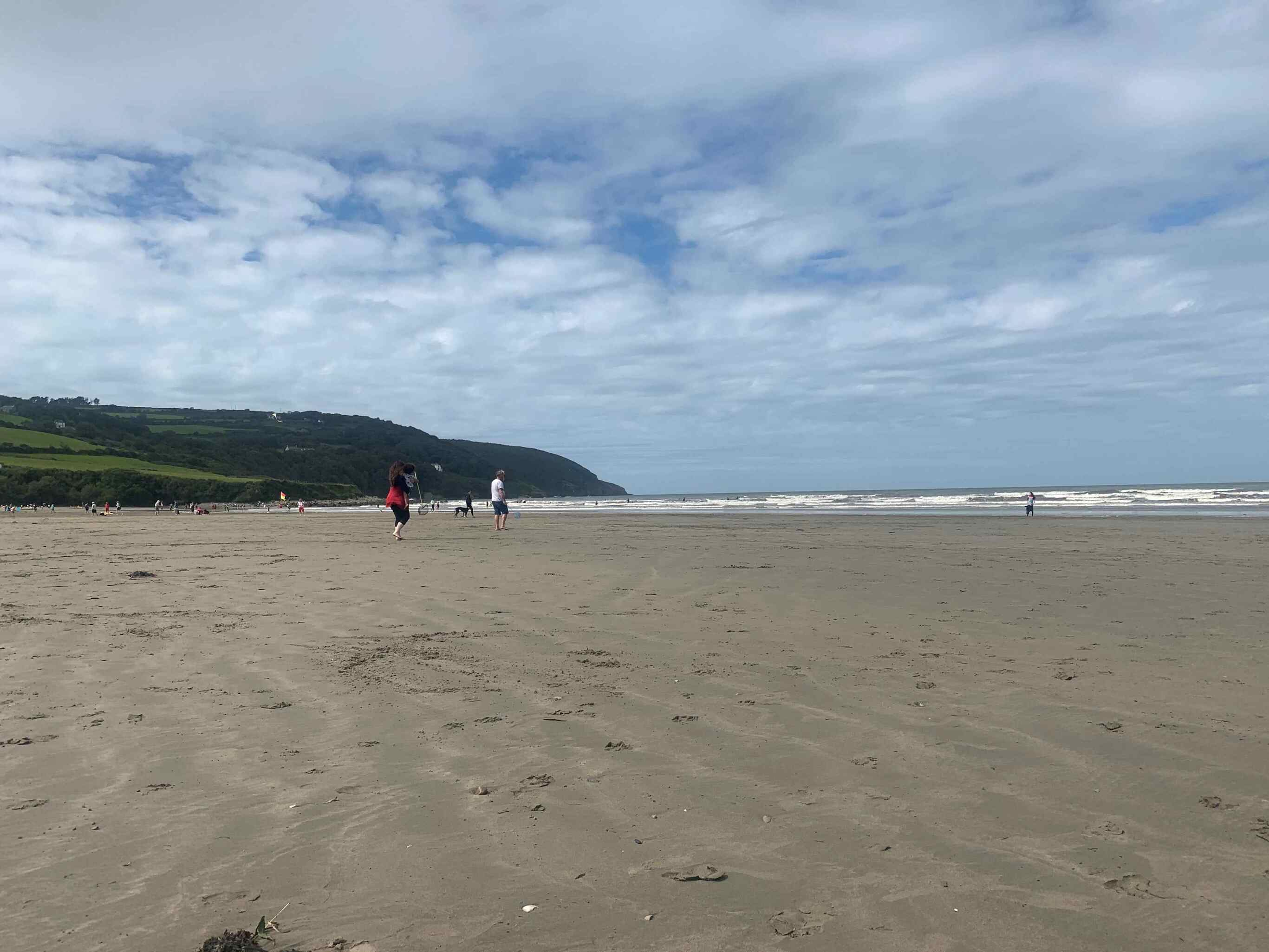 Image of Poppit Sands Beach