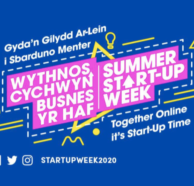 summer start up week graphic