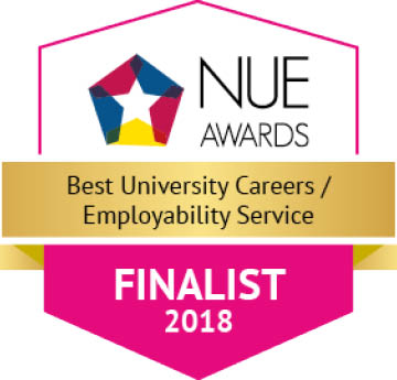 National Undergraduate Employability Awards Finalist logo