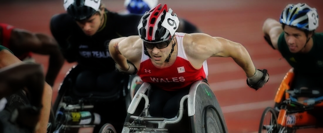 Wheelchair sprint
