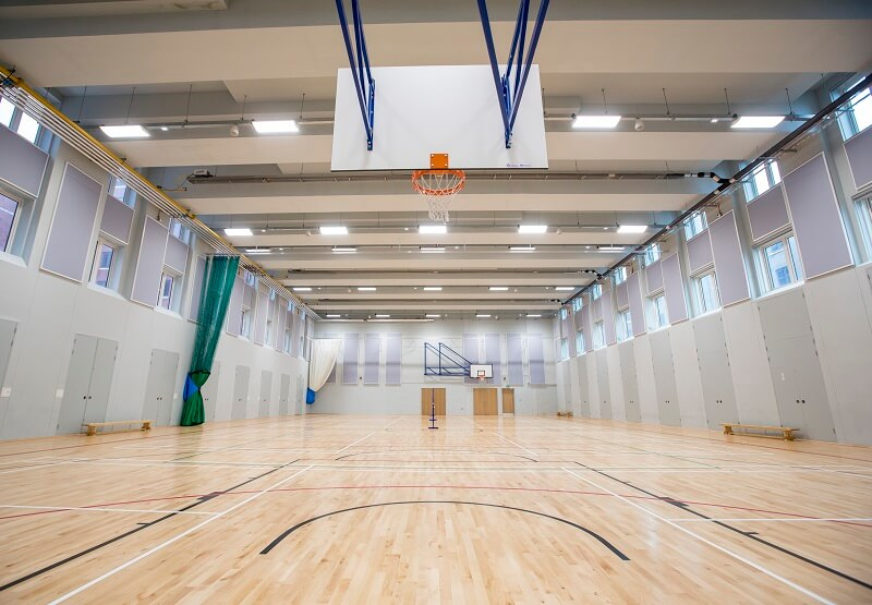 Image showing the sports hall at Bay Campus