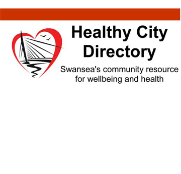 'Healthy City Directory - Swansea's community resource for wellbeing and Health' logo