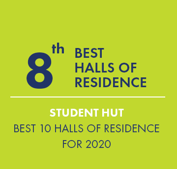 8th Best Halls of Residence - Student Hut - Best 10 Halls of Residence for 2020