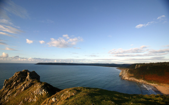a bay in Gower