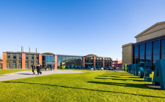 Swansea University Bay Campus Image in Sunshine