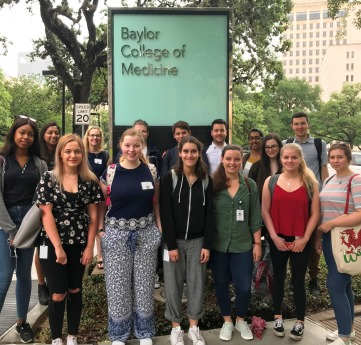 Students at Baylor College of Medicine