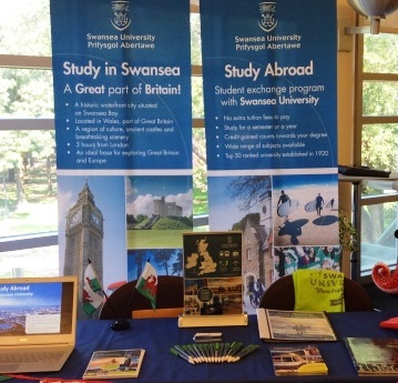 Stand at Learning Abroad Fair