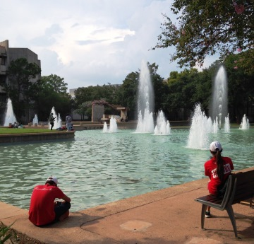 Fountains at University of Houston